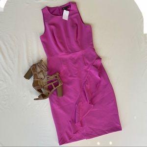 JAX Black Label dress NWT women's size 8 fuchsia